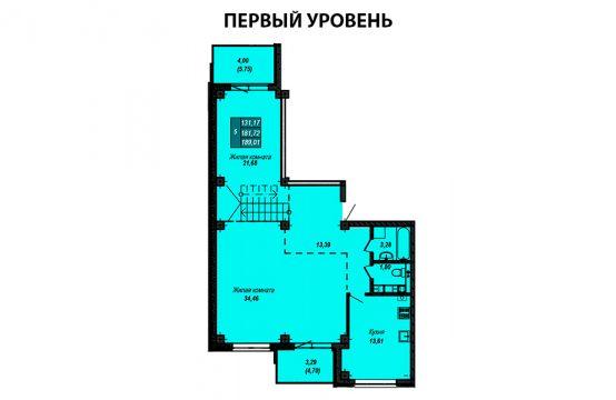Квартира №17 (двухуровневая квартира)