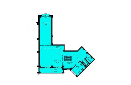 Квартира №17 (не продается)