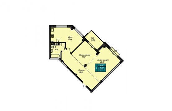 Квартира №19 (не продается)
