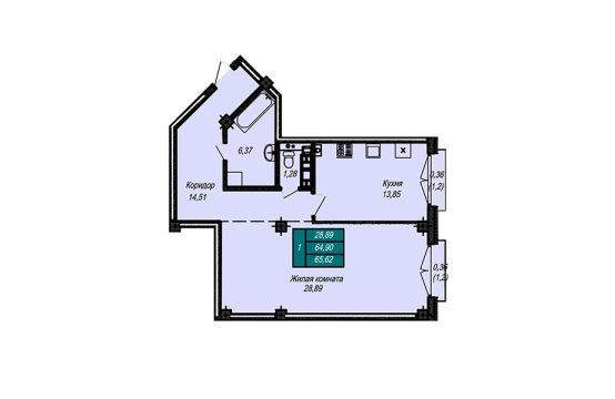 Квартира №21 (не продается)