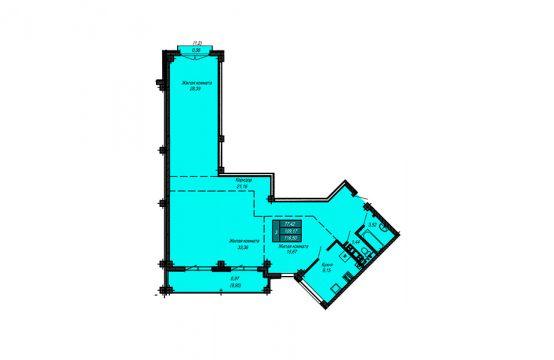 Квартира №23 (не продается)