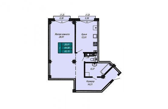 Квартира №24 (не продается)