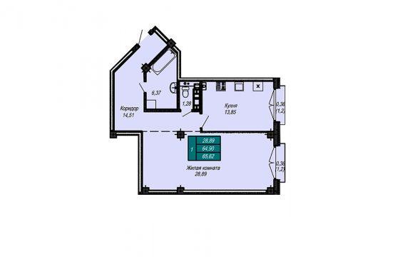 Квартира №27 (не продается)