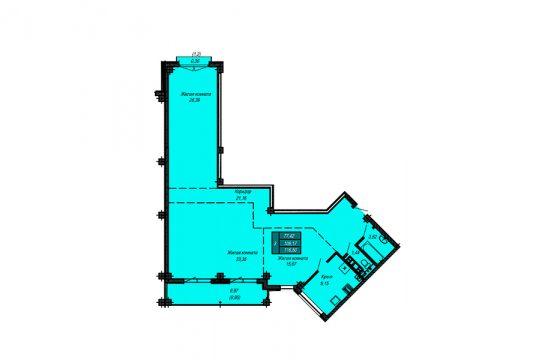 Квартира №29 (не продается)