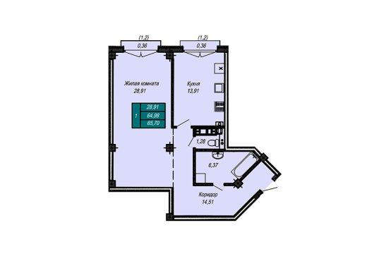 Квартира №30 (не продается)