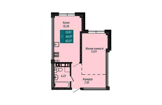 Квартира №3 (не продается)