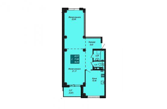 Квартира №5 (не продается)