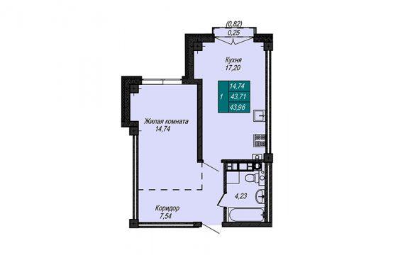 Квартира №6 (не продается)