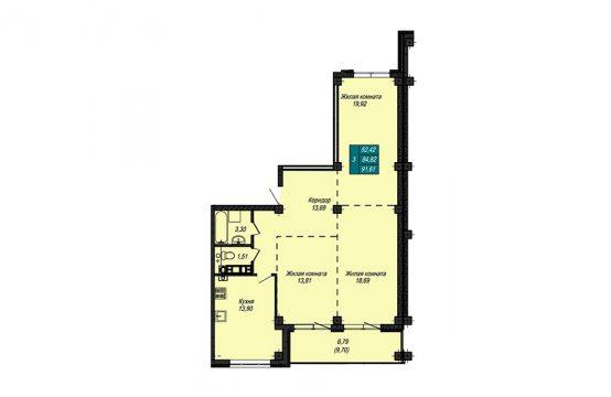 Квартира №8 (не продается)