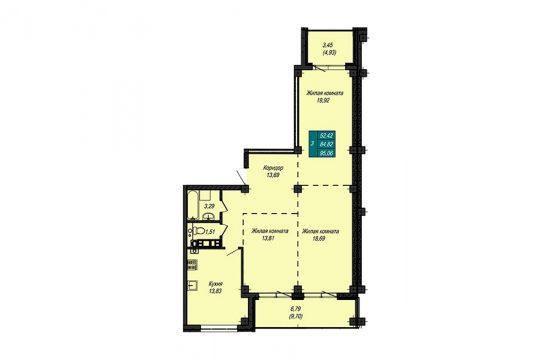 Квартира №12 (не продается)