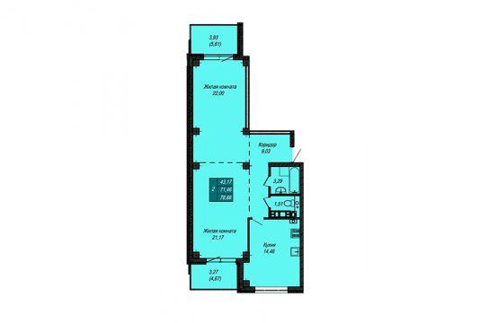 Квартира №9 (не продается)