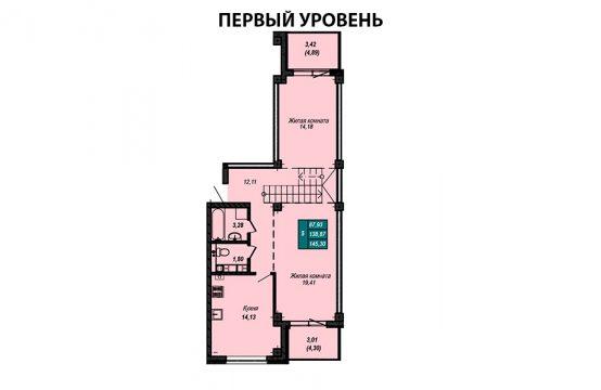 Квартира №20 (двухуровневая квартира)