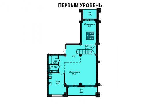 Квартира №40 (двухуровневая квартира)