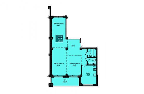 Квартира №41 (не продается)