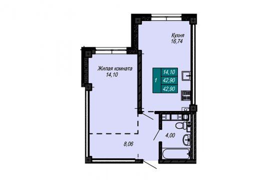 Квартира №42 (не продается)