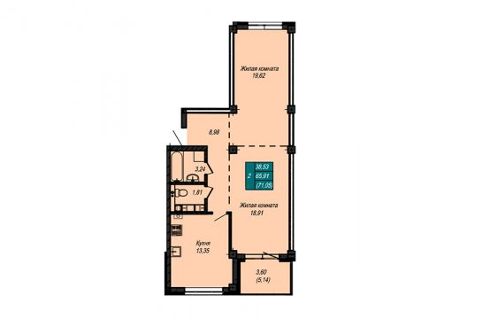 Квартира №44 (не продается)