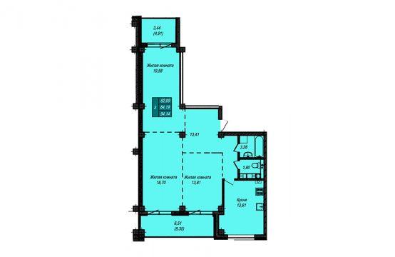 Квартира №45 (не продается)