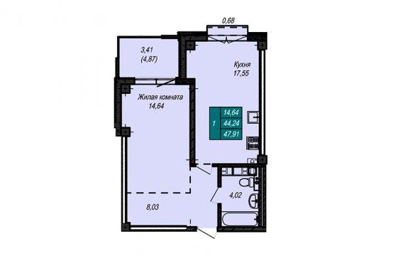 Квартира №46 (не продается)