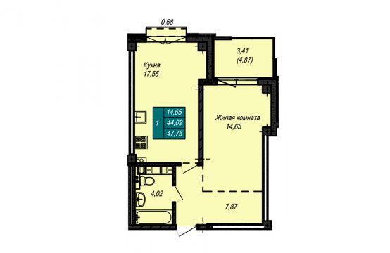 Квартира №47 (не продается)