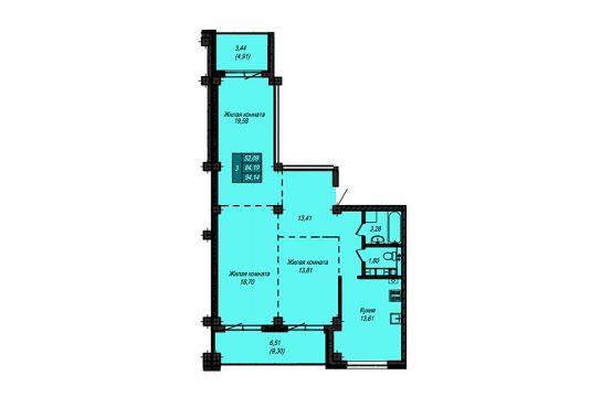 Квартира №49 (не продается)