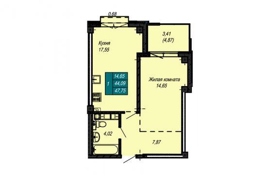 Квартира №51 (не продается)