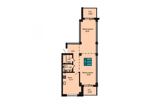 Квартира №52 (не продается)