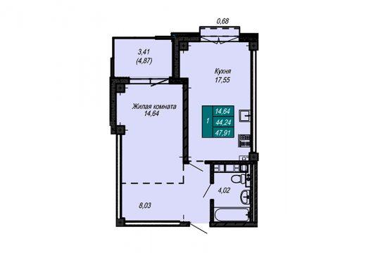 Квартира №54 (не продается)