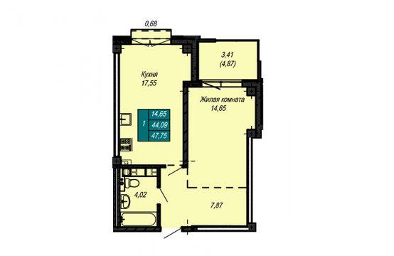 Квартира №55 (не продается)