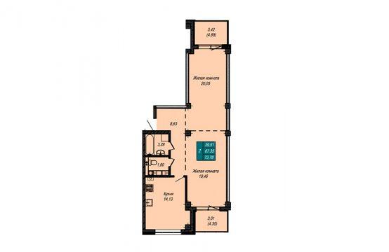 Квартира №56 (не продается)