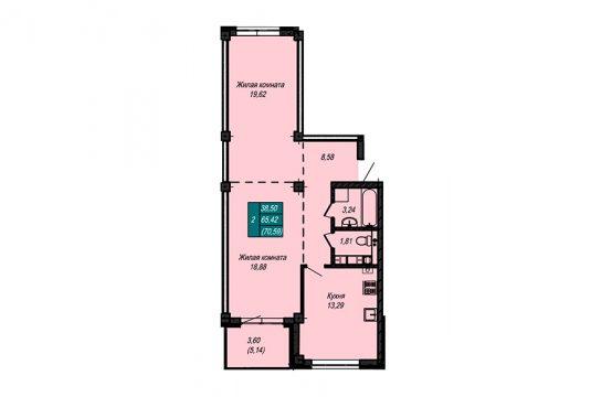 Квартира №61 (не продается)