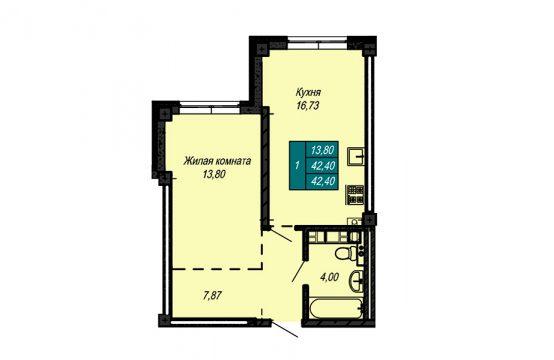 Квартира №62 (не продается)