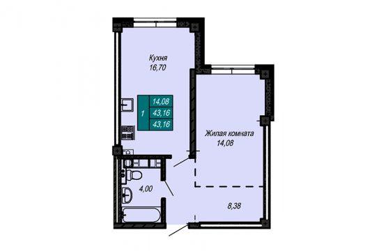 Квартира №63 (не продается)