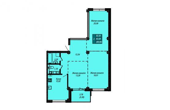 Квартира №64 (не продается)