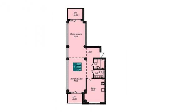 Квартира №65 (не продается)