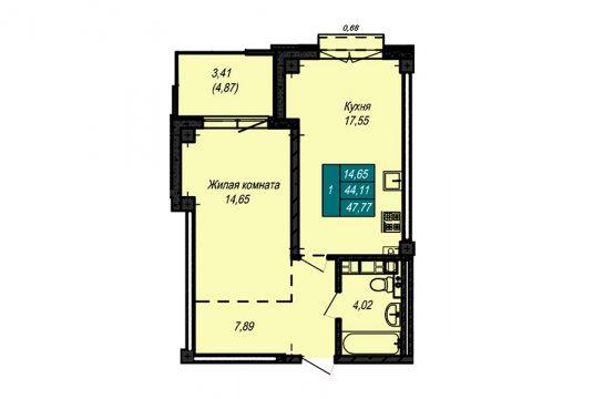 Квартира №66 (не продается)