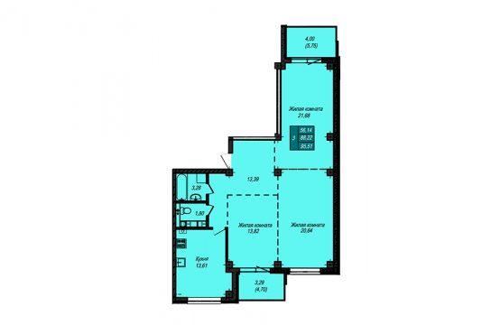Квартира №68 (не продается)