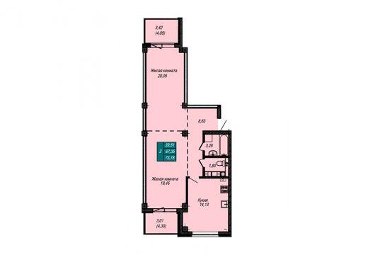 Квартира №69 (не продается)