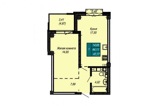 Квартира №70 (не продается)