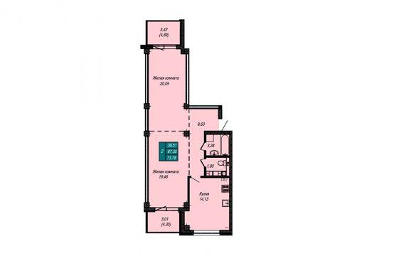 Квартира №73 (не продается)