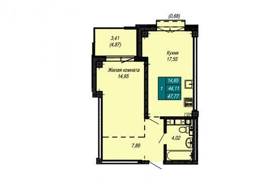 Квартира №74 (не продается)