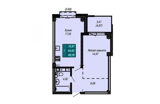 Квартира №75 (не продается)